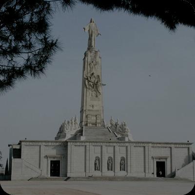 imagen basilica cerro de los Angeles Getafe